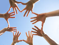 cercle de mains