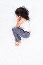 position foetale femme