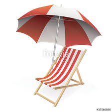 parasol chaise longue dessin