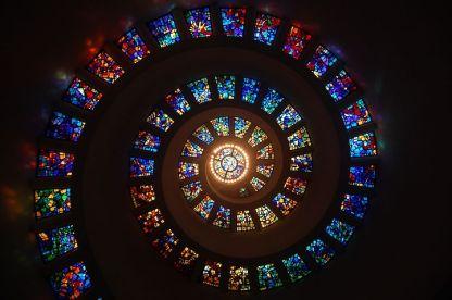 spirale vitrails