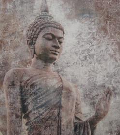 statue boudha meditant